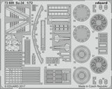 Eduard 1/72 Photoetched Su-34 for Trumpeter kit - 73609