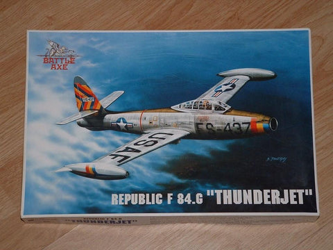 Battle Axe Model kit 1/48 Republic F-84G Thunderjet - 48BA01 - 2nd Hand
