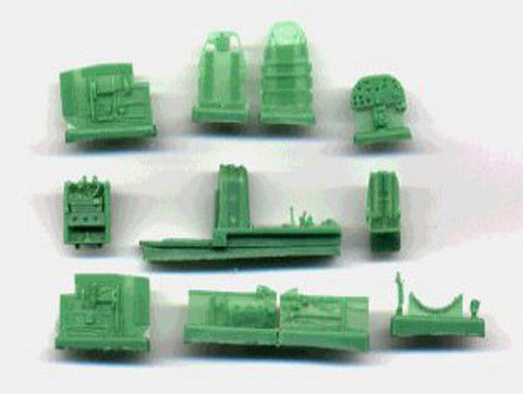 NeoMega Resin Kits 1/72 II-2M3 FOR Toko Kit