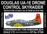 RVHP Models 1/72 Douglas UA-1E Drone Control Skyraider conversion for HSG