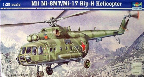 Trumpeter 1:35 Mil Mi-8MT/Mi-17 Hip-H Helicopter - #05102 - from collection