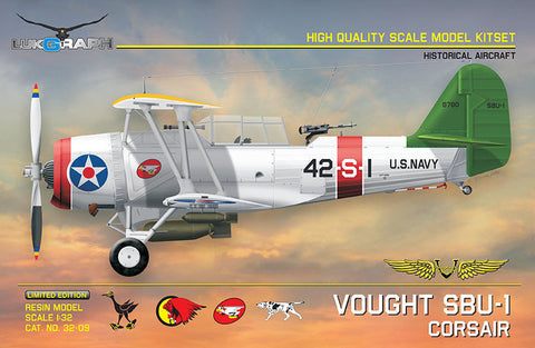 Lukgraph 1/32 VOUGHT SBU-1 Corsair Resin Kit (Multi Media kit) - 32-09