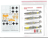 Techmod 1/72 decal Messerschmitt Bf 109G-2 - #72051