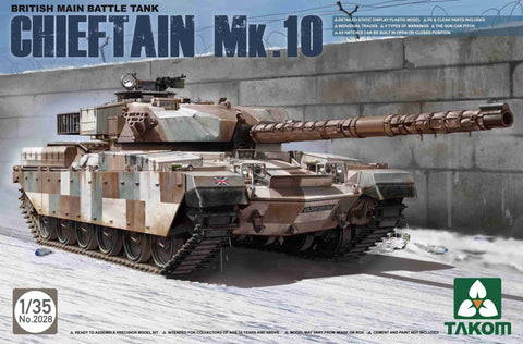 TAKOM 1/35 BRITISH  Chieftain MK.10  MBT