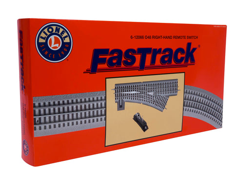 Lionel O Gauge #6-12066 FasTrack O-48 Remote Switch - Right Hand
