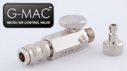 Grex - G-MAC - MAC Valve with Quick Connect Coupler and Plug