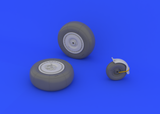 Eduard 1/32 Brassin Ju 88 wheels late for Revell - 632024
