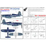 HGW 1/48 scale wet transfers for F4U-1A VF-17 Jolly Rogers Kits Part 2 - 248903
