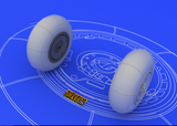 Eduard 1/48 Brassin Bf 110 E/ F/G main undercarriage wheels - 648055