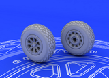 Eduard 1/72 Brassin P-51 wheels for Tamiya - 672016