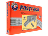 Lionel O Gauge #6-81947 FasTrack O-36 Remote/Command Control LH Switch