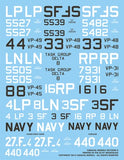 Caracal Models 1/72 decals for the P5M-2 (SP-5B) Marlin by Hasegawa - CD72040