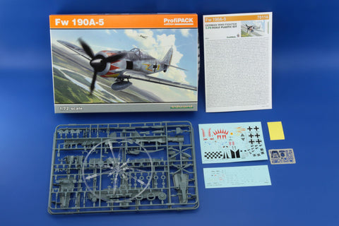 Eduard 1/72 model kit Fw 190A-5 German Fighter ProfiPack edition - #70116