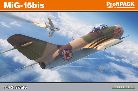 Eduard 1/72 ProfiPack kit of MiG-15bis Soviet Cold War Jet  - 7059