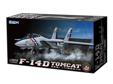 Great Wall Hobby 1/72 scale F-14D Tomcat - L7203