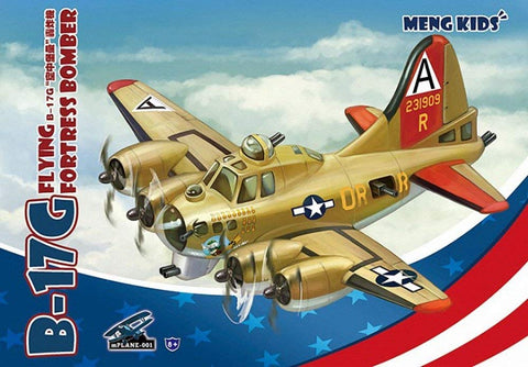 MENG Kid's B-17G Flying Fortress Bomber - mPlane-001