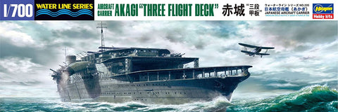 "Hasegawa 1/700 scale kit Japanese Aircraft Carrier AKAGI - ""Three Flight Deck"" #49220"