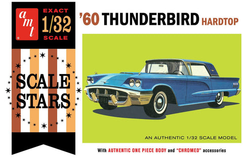 AMT 1/32 scale #1135/12 '60 Ford Thunderbird Hard Top Model Kit