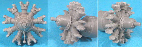 1/72 Vector Resin Bramo-323 Fafnir Engine #72-010