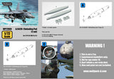 Wolfpack 1/72 A/A42R-1 Refueling Pod set for F/A-18 & S-3 - WP72069