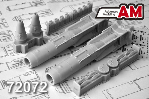 Advanced Modeling 1/72 KAB-1500LG 1500 kg Laser-guided bomb - AMC72072