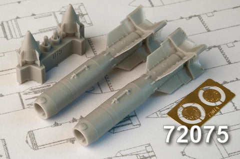 Advanced Modeling 1/72 resin KAB-500L Laser-guided Bombs - AMC72075