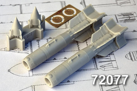 Advanced Modeling 1/72 KAB­500S 500kg Satellite Guided Air Bomb AMC72077