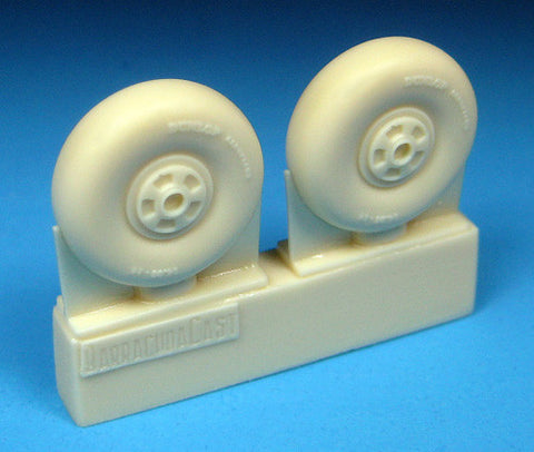 1/72 BarracudaCast BR72246 Beaufighter Early Wheels - No Tread for Airfix