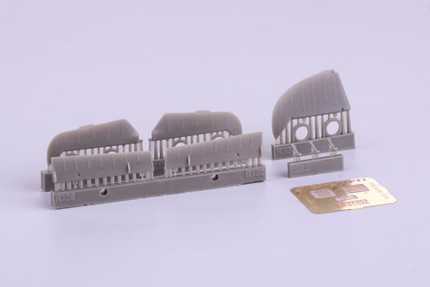 Eduard 1/48 Brassin control surfaces for Bf 109G for Eduard kit - 648310