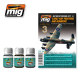 Early RAF Fighters & Bombers weathering set AMIG-7416 by Ammo Mig Jimenez