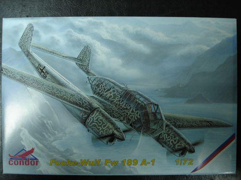 Condor Model Kit 1/72 Focke Wulf Fw 189 A-1 - C72005