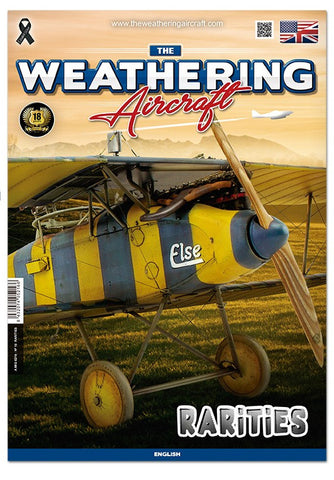 AMMO by Mig Jimenez The Weathering Aircraft Issue 16. RARITIES - AMIG5216