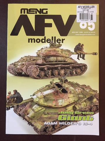 Meng AFV Modeller Magazine #85 Nov/Dec 2015 Jolly Green Giant Adam Wilder's IS-4