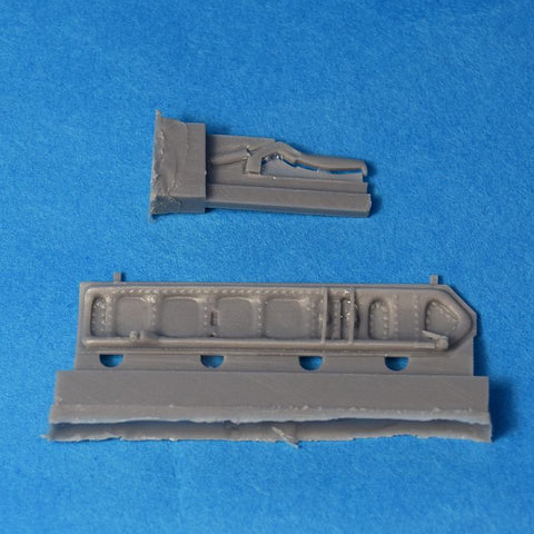Hypersonic Models 1/48 Resin A-4B/C Nose Wheel Door for Hasegawa - HSMR48031