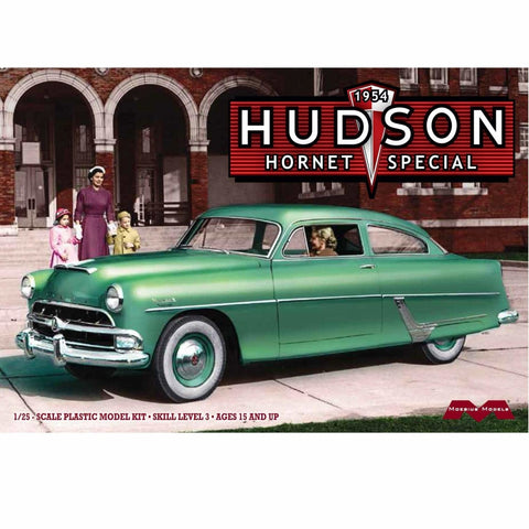 MOEBIUS 1/25 scale 1954 HUDSON HORNET SPECIAL model kit #1214