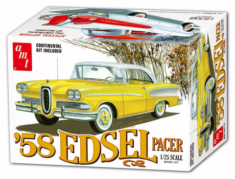 AMT 1/25 1958 FORD Edsel Pacer Special Option Full Continental Kit - 1087/12