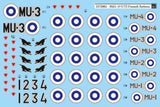 SBS Model 1/72 decal for Mig-15 UTI Finnish Air Force - D72002
