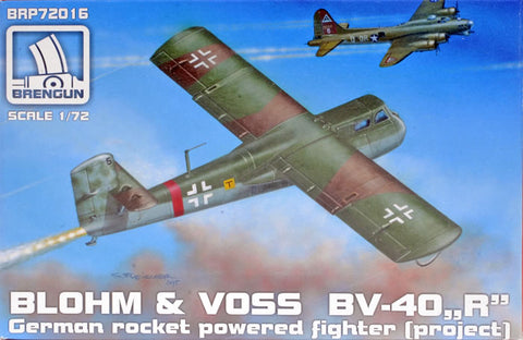 "Brengun 1/72 Kit BRP72016-Blohm & Voss BV-40 "" R "" Rocket - Slight Shelf Wear"