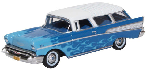 Oxford Diecast Co. HO Scale 1957 Chevrolet Nomad Hot Rod  #87CN57005
