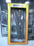 Rail King MTH O Gauge RealTrax operating O-54 Switch (L) 40-1055 New Old Stock