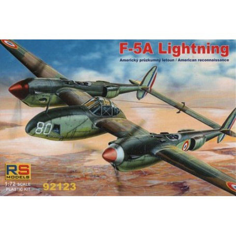 RS Models kit 1/72 F-5A Lightning - 92123 - Slight Shelf Wear