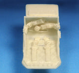 Barracuda Cast 1/48 BR48397 Hawker Tempest Seat with Belts for Eduard