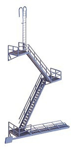 Walthers Cornerstone 933-3736 HO Scale Modern Fire Escape
