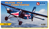 Big Plane Kits 1/72 scale Pilatus PC-6 Turbo Porter 7213 - US Army - Red Bull