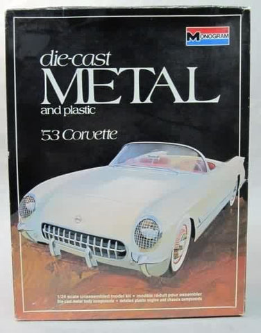 Monogram 1/24 scale 1953 Corvette Metal Body kit#6100