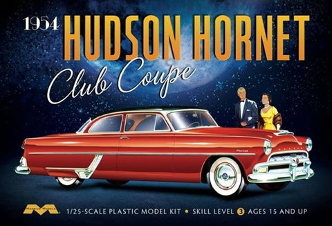 MOEBIUS 1/25 scale 1954 HUDSON HORNET CLUB COUPE Kit#1213