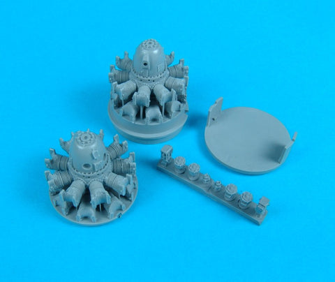 Quickboost 1/48 Resin P-61 Black Widow engines for Monogram - QB48055