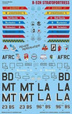 Caracal Models 1/72 Decal B-52H Stratofortress for AMT or ModelCollect - CD72058