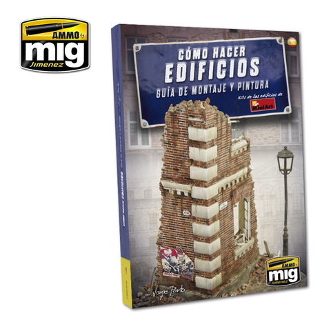 AMMO of MiG HOW TO MAKE BUILDINGS basic construction and painting - AMIG6135