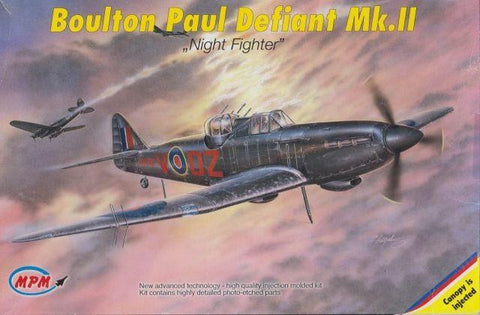 MPM 1/72 Boulton Paul Defiant Mk.II Night Fighter kit 72519 Bagged No Manuf Box